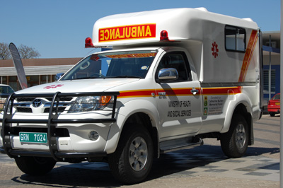 Ambulance donated to Omaheke region, Namibia